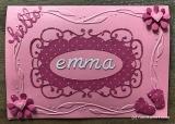 Karte Geburt Emma
