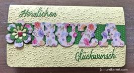 Karte Geburtstag Ruza