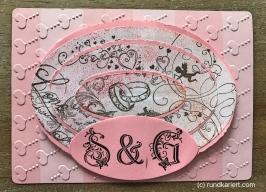 Karte Hochzeit