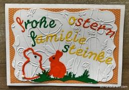 Karte Ostern