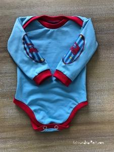 Body Baby Feuerwehr Klimperklein