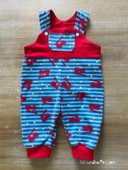 Latzhose Baby Klimperklein