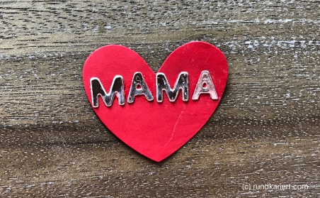 Konservendose Muttertag Herz Mama