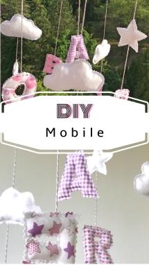Mobile DIY Baby nähen