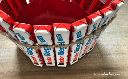 Segelboot DIY Kinderschokolade Kindertag Torte umwickelt