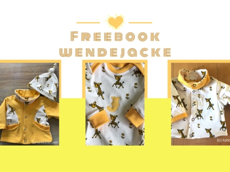 Freebook Wendejacke und Body Baby