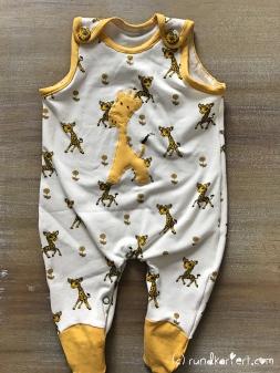 Strampler Giraffe Freebock