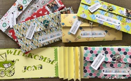 Briefe an mein Enkelkind Briefe einkleben