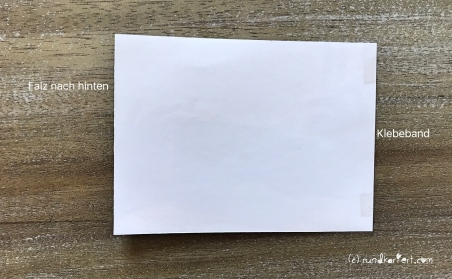 Magic Card Geburtstag Sizzix rundkariert ruka Anleitung klebepunkte