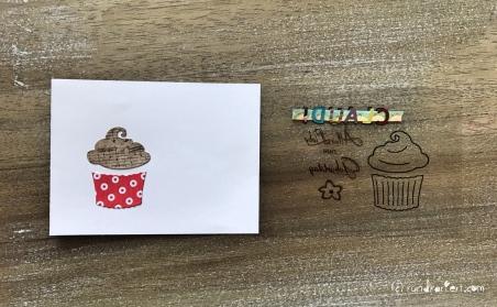 Magic Card Geburtstag Sizzix rundkariert ruka Anleitung washi tape