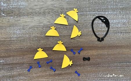 karte zur Einschulung Sizzix personalisiert rundkariert ruka luftballon zuckertüte