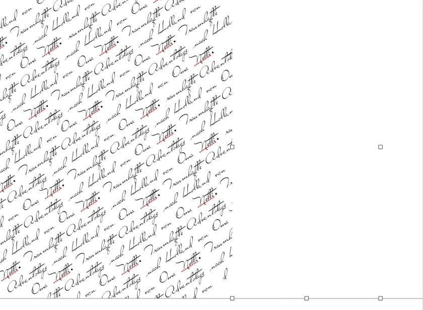 Adventskalender personalisiert basteln Anleitung last minute einfach schnell rundkariert schreibprogramm