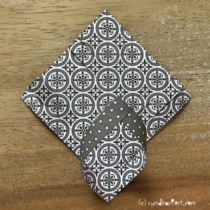 Adventskalender Türchen Nr. 6 Papierstern geschnitten DIY drehen