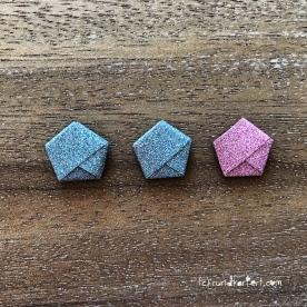 Adventskalender türchen Nr. 8 Ministerne Origami Anleitung diy basteln
