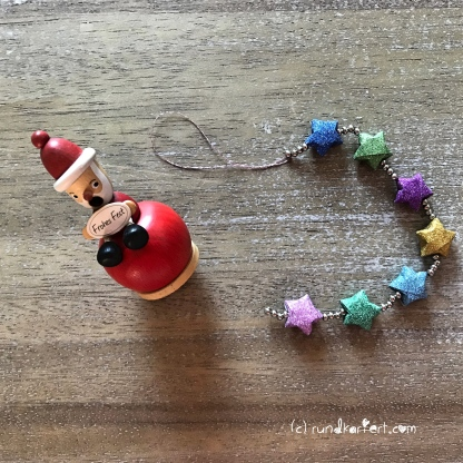Adventskalender türchen Nr. 8 Ministerne Origami Anleitung diy Sterne Weihnachten