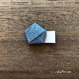 Adventskalender türchen Nr. 8 Ministerne Origami Anleitung diy weihnachten